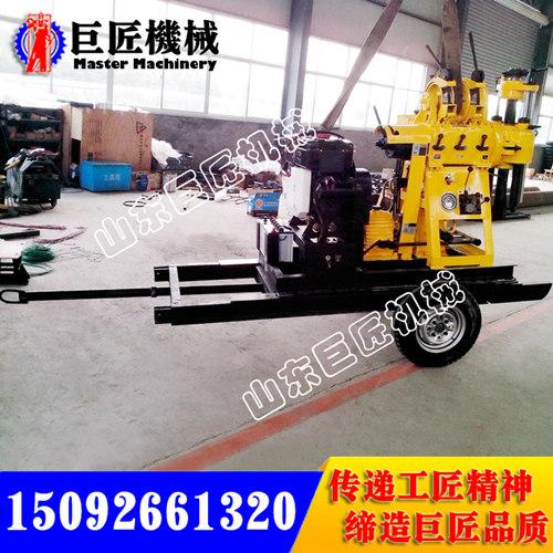 巨匠機械柴油發動取芯鉆機HZ-200混凝土取芯鉆機