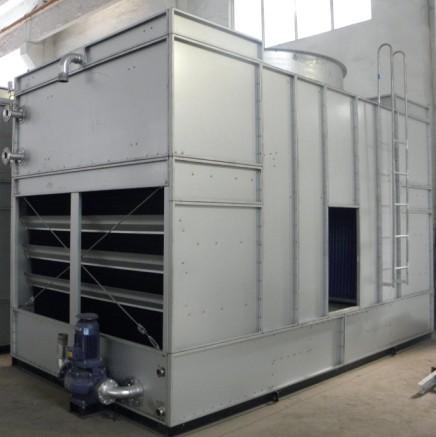 复合流高效型闭式冷却塔