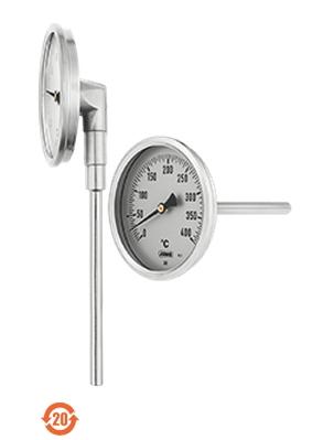 608001久茂双金属温度计JUMO-标准型