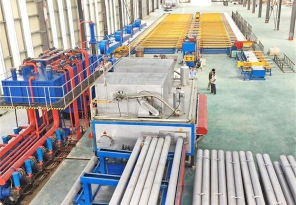 无锡意美德机械生产单动卧式800吨铝型材挤压机