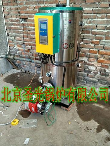 全自动小型家用燃油气热水供暖锅炉