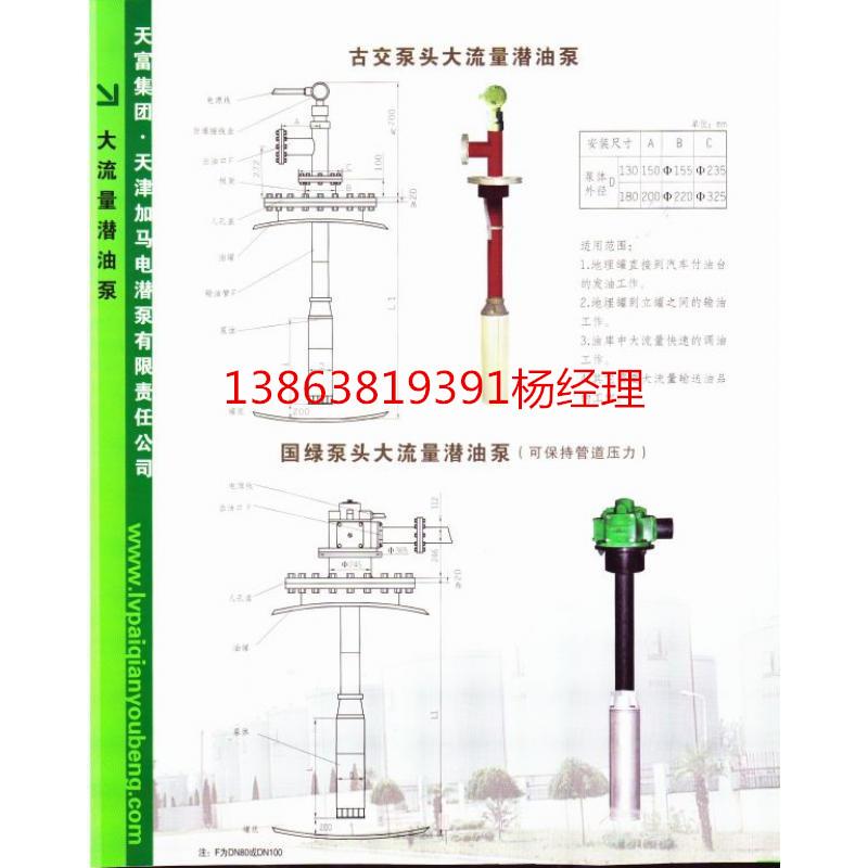 红夹克潜油泵升级版-绿牌化工潜液泵