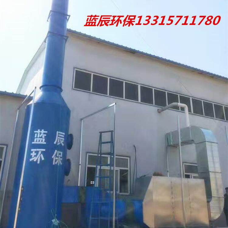 喷淋塔废气处理设备喷淋塔废气净化装置生产厂家选蓝辰