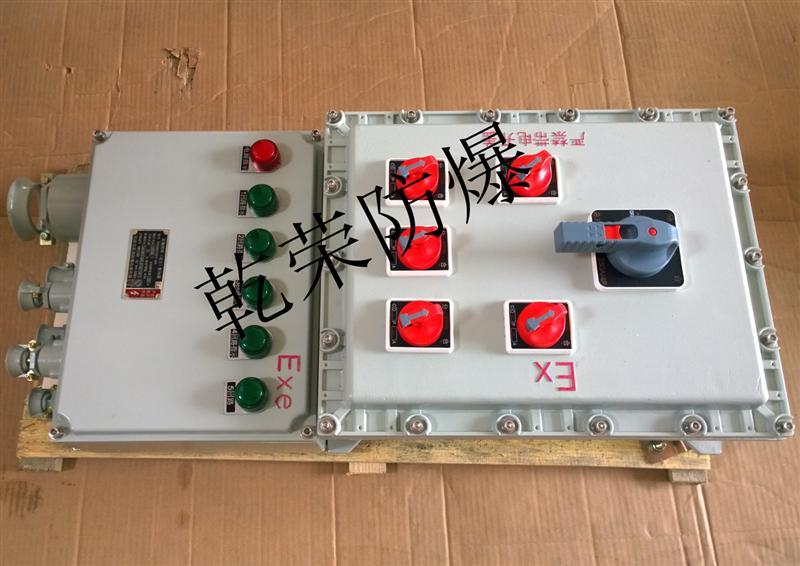 一控一防爆阀门控制箱现货供应、一控二阀门防爆控制箱