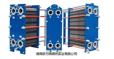 镍材板式热交热器