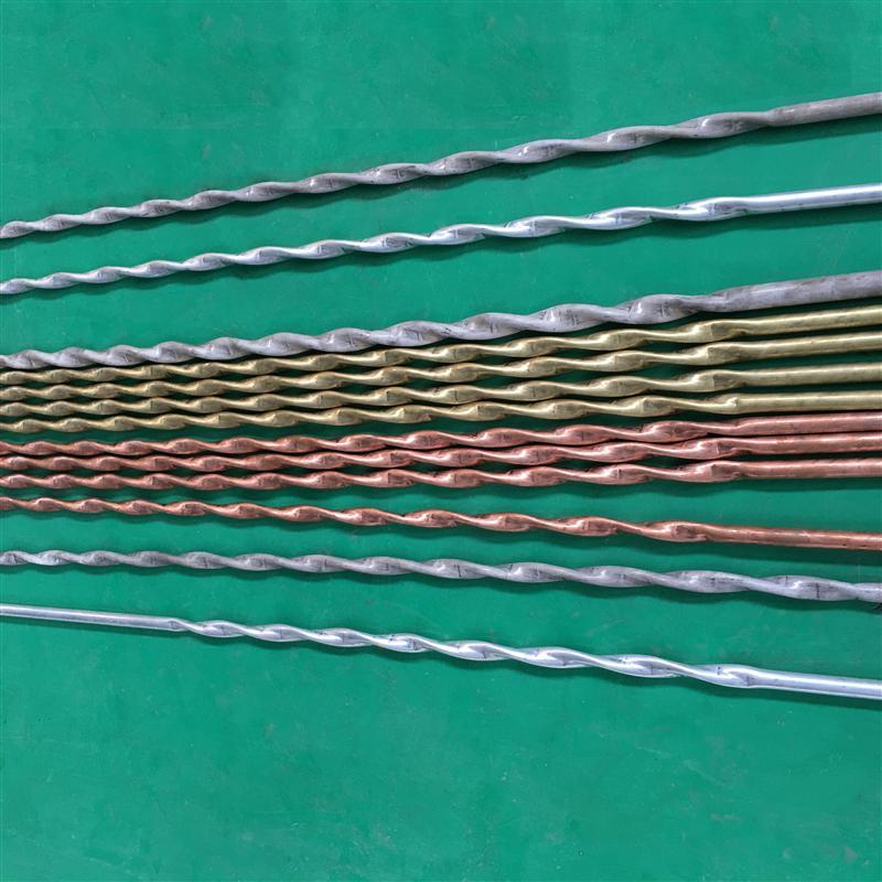 黄铜紫铜螺旋扁管