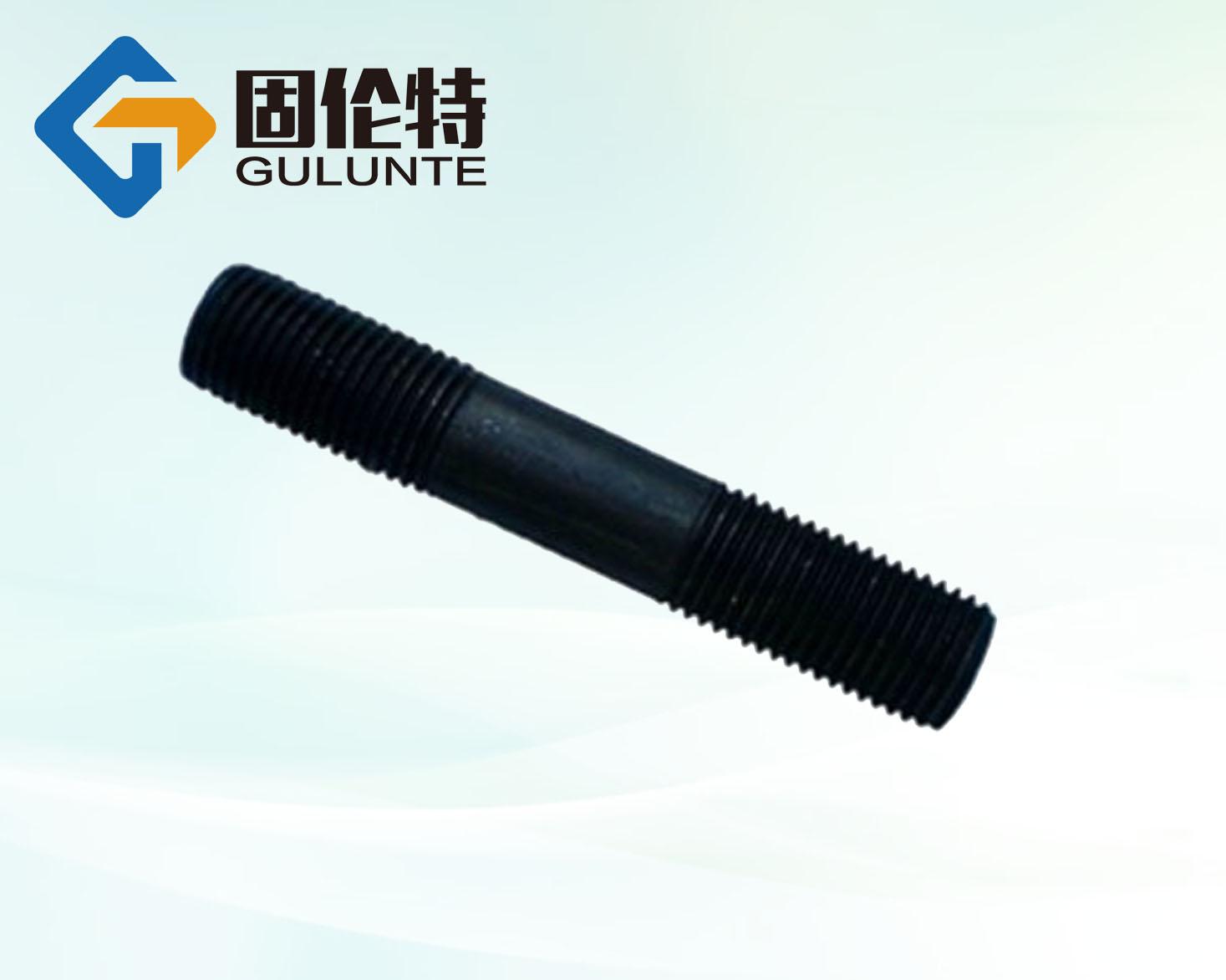 石化专用防腐双头螺栓厂家,耐高温高压双头螺栓价格,35CrMoA双头螺栓标准