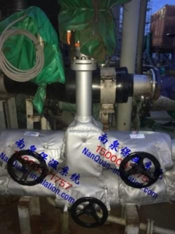 船舶热油系统管道阀门防烫保温套