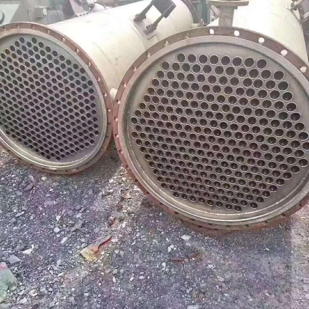 出售二手50平方钛材冷凝器