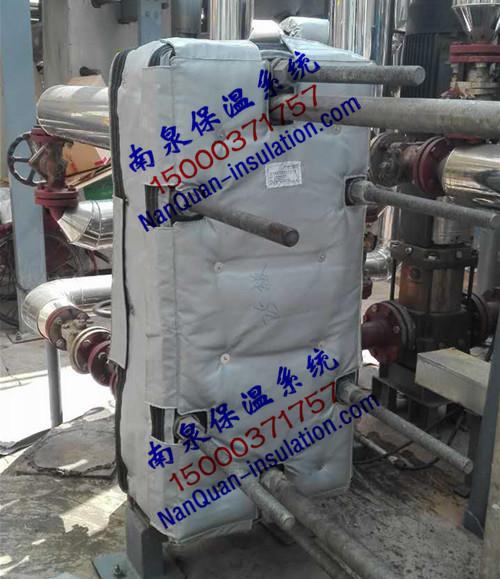 板式换热器易拆装式节能保温毯
