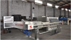 厢式压滤机用于行业过滤中的结构特性