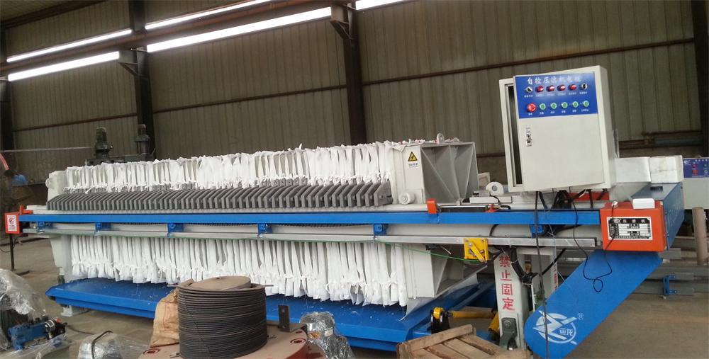 浅析厢式压滤机施工前的安装职分