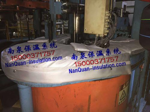 Nansen轮胎硫化机模具上盖防烫保温罩
