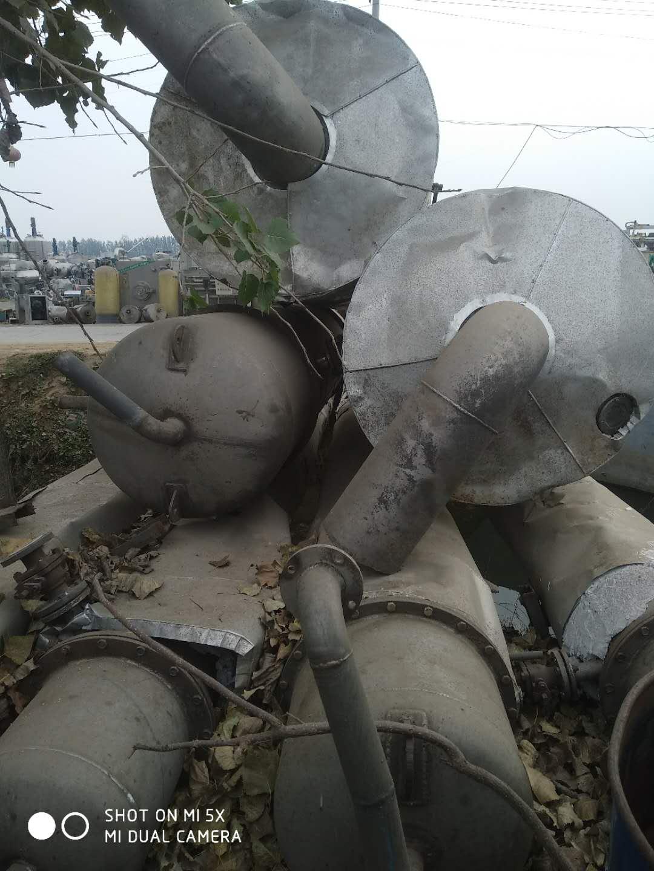 出售二手6吨三效四体蒸发器
