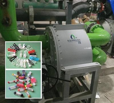 Eqobrush工业管道自动化清洗系统
