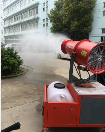 宜昌建筑工地降尘雾炮机HR-30