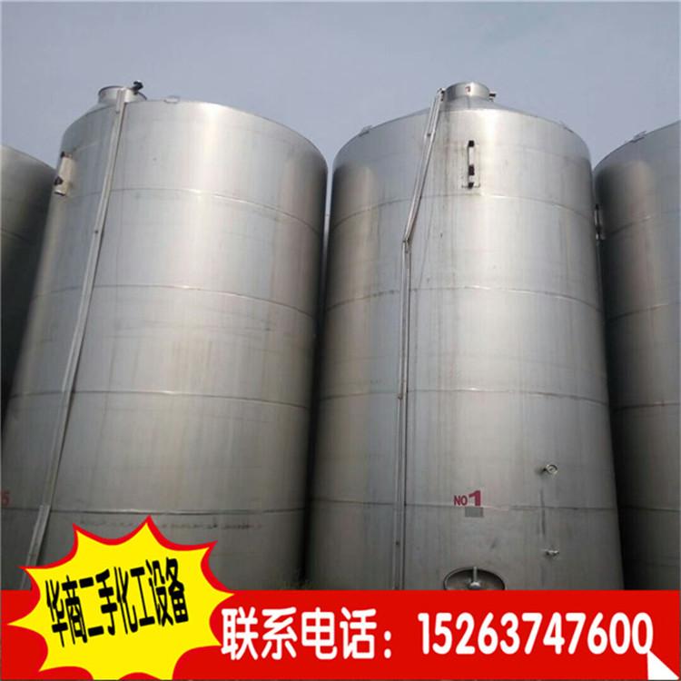 常年出售二手10立方碳钢储罐、二手不锈钢搅拌罐