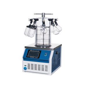 SCIENTZ-10N多歧管压盖型冷冻干燥机(台式) 三层托盘压盖型多歧管