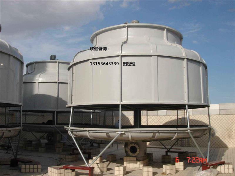 圆形逆流式高温节能冷却塔厂家直销