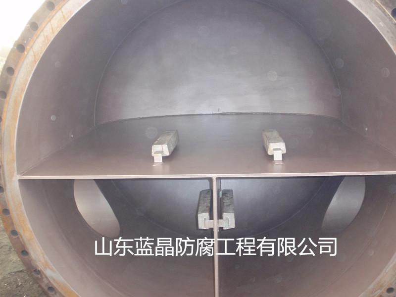 海上石油钻井平台冷却器牺牲阳极保护防腐