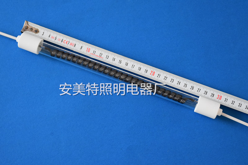 220v碳丝管-12管径碳纤维加热管 长度300mm安美特可定制