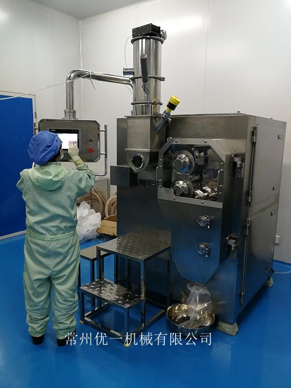 实验型干法制粒机