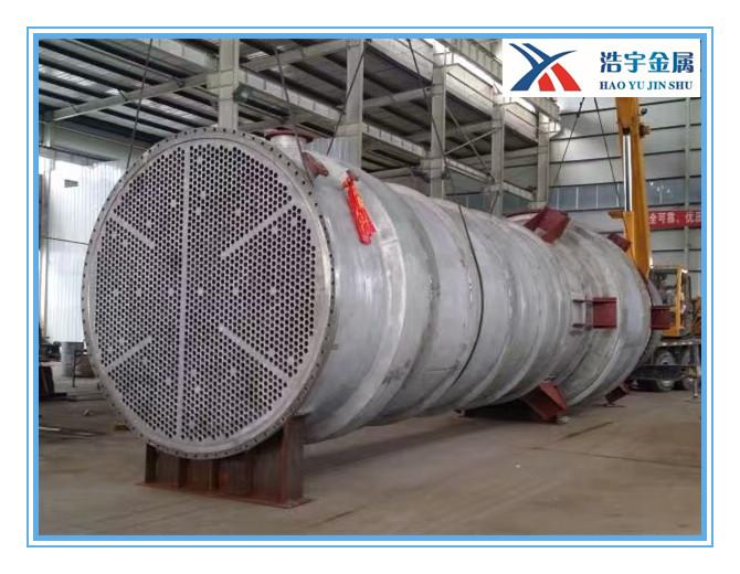 钛换热器 纯钛及钛钢复合换热器 冷却器 冷凝器