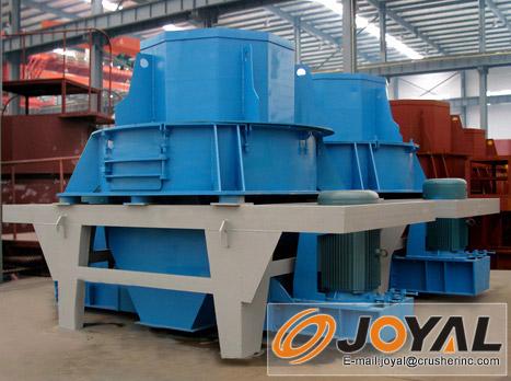 制砂机适用于各种矿石、岩石、耐火材料