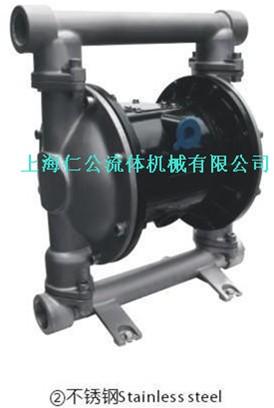 1寸不銹鋼氣動隔膜泵RG74311.RG74355.RG74366