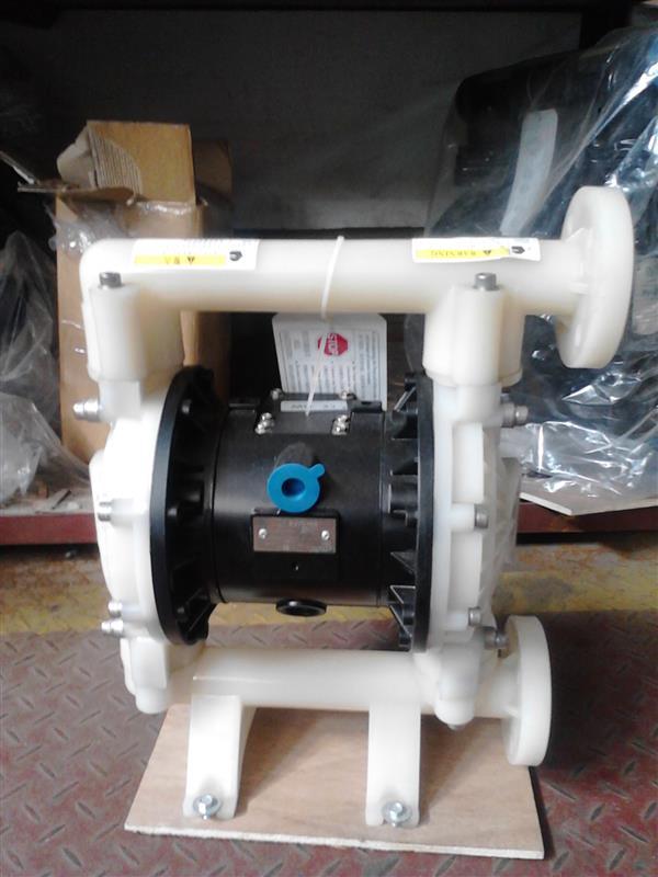 PVDF气动隔膜泵1寸(RG75A11),全塑气动隔膜泵