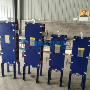 化工行业专用耐腐蚀、可承高温高压全焊接板式换热器