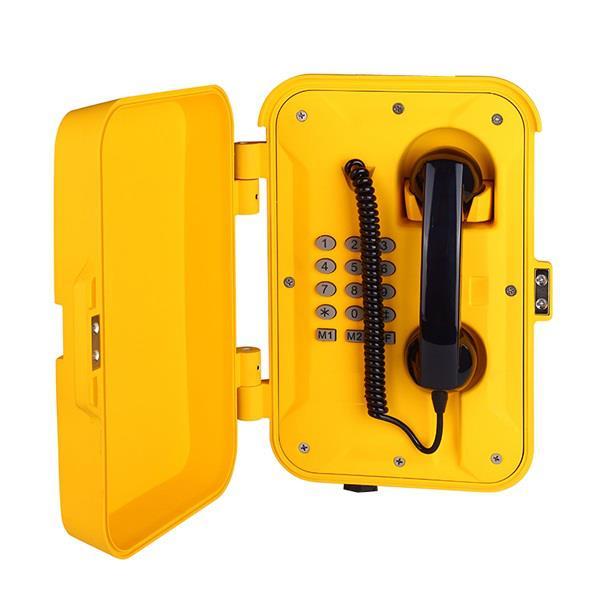 化工厂防腐电话机,网络防水电话,厂区防水话机