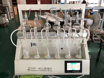 郑州二氧化硫蒸馏器JTZL-6Y智能蒸馏仪