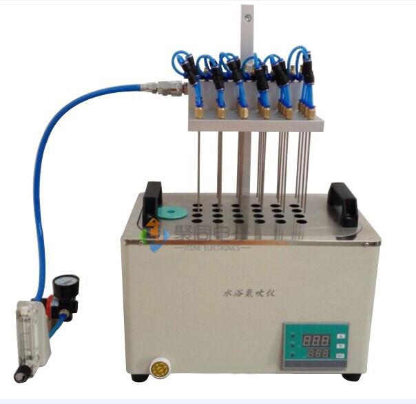银川方形浓缩仪JT-DCY-24SL水浴式氮气吹干装置