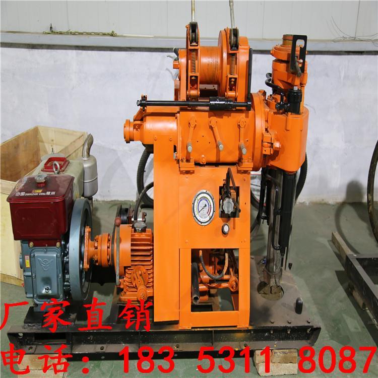 HZ-180YY液压盈动式水井岩心勘探钻机