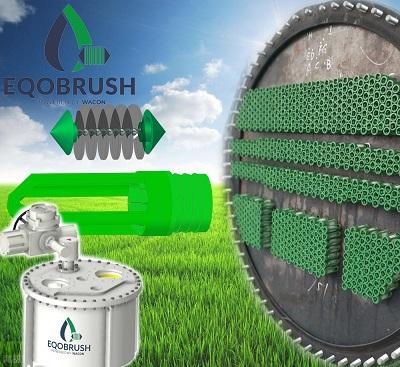 水冷机组中央空调环保清洗EQOBRUSH冷凝器在线清洗系统