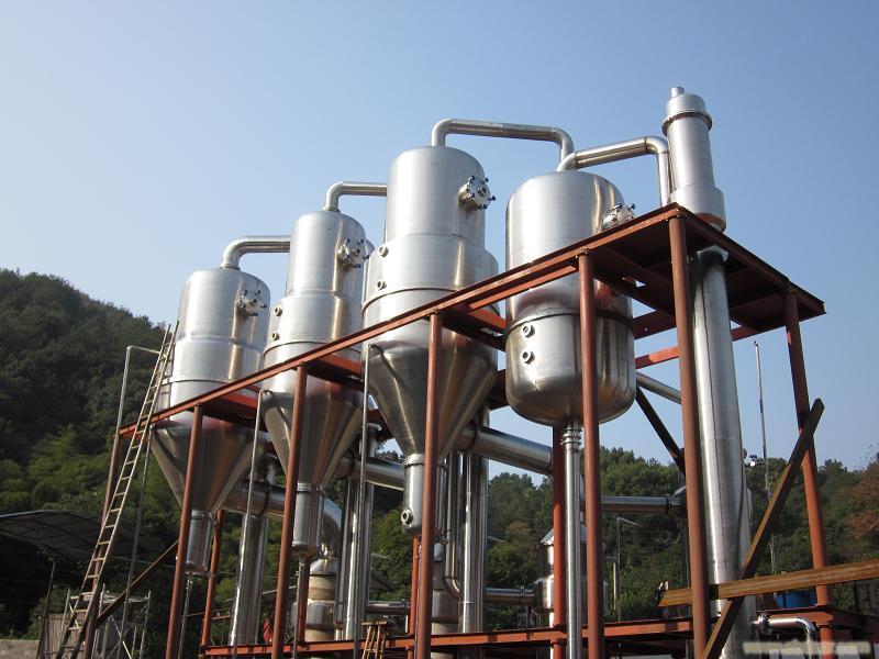 常年购销二手多效降膜蒸发器、二手16吨316L