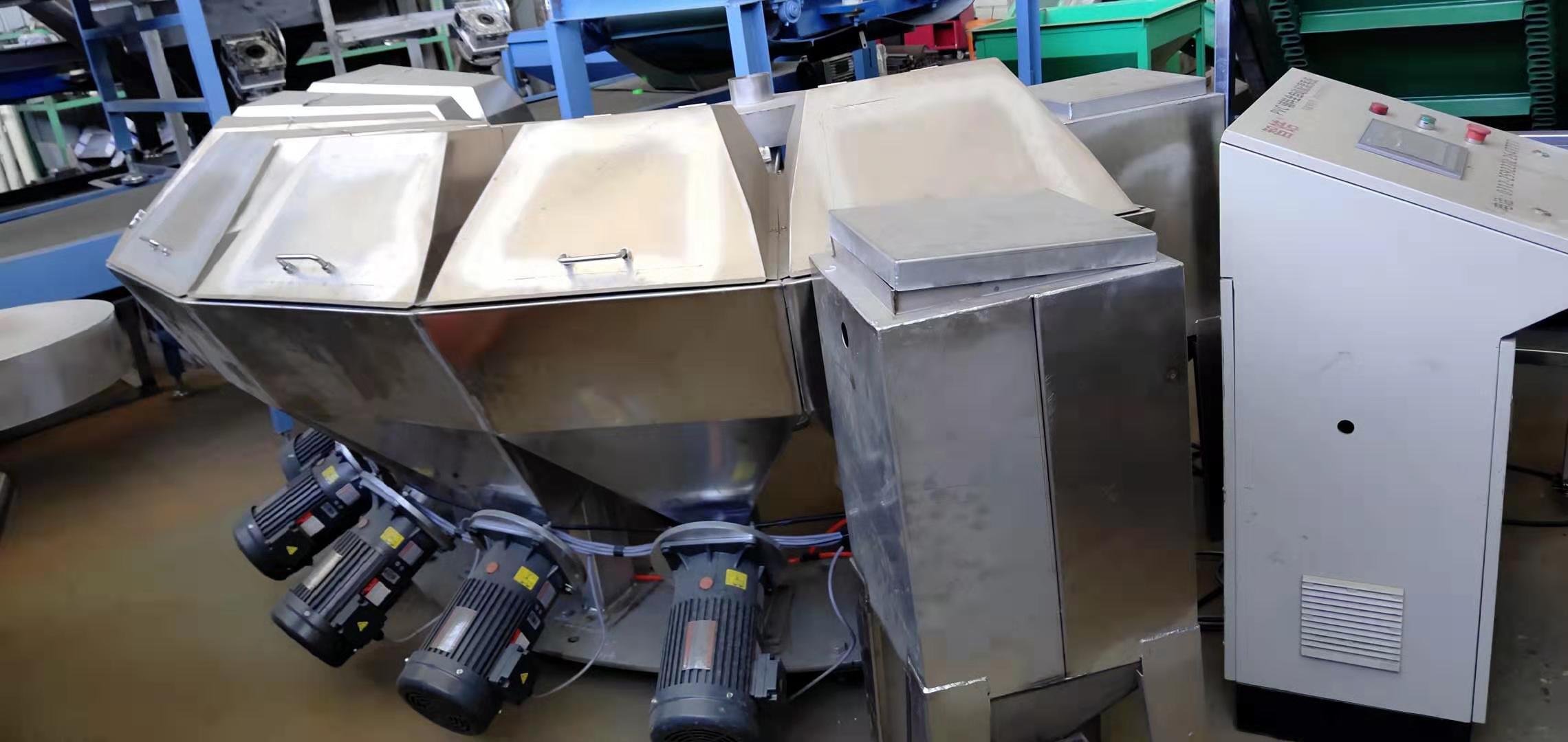 橡塑行業擠出工藝必備不銹鋼配料機