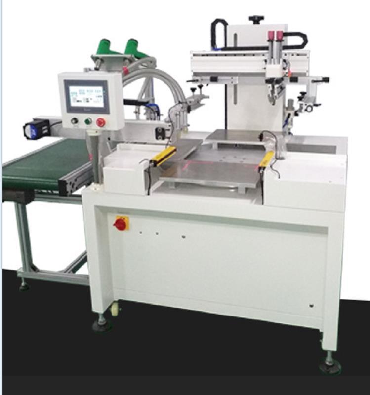 亚克力标牌丝印机玻璃面板网印机槊胶外壳丝网印刷机