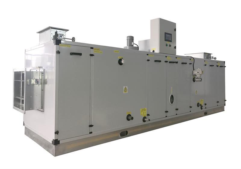 玻璃合片室专用组合式转轮除湿机