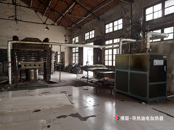 武汉博联一主睹电加热导热油汽锅