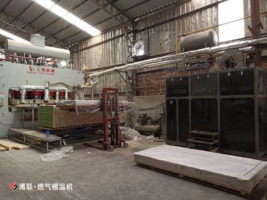 低氮排放導熱油爐優選博聯燃氣模溫機