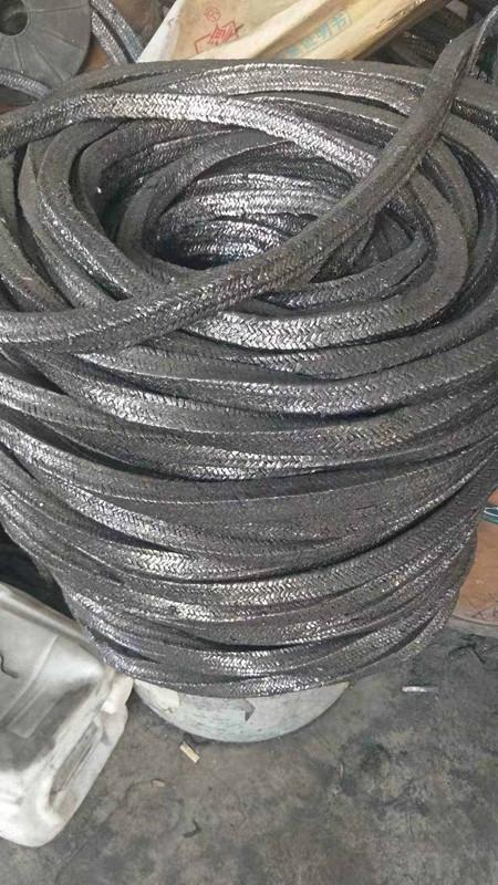 高碳纖維盤根采用進口碳纖維盤根廠家