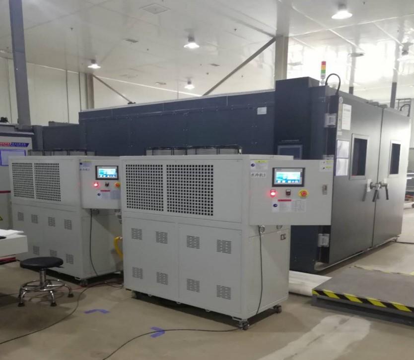 新能源动力电池包测试控温系统