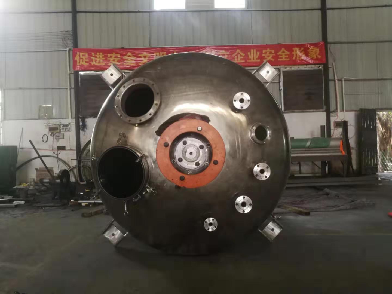 熱溶膠類生產設備夾套式反應釜
