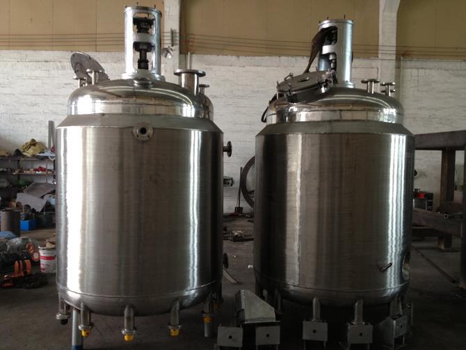 压敏胶生产设备不锈钢反应釜