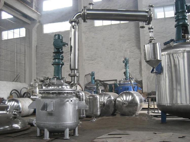 夹套式反响釜适用于 EVA胶 订书胶生产发觉