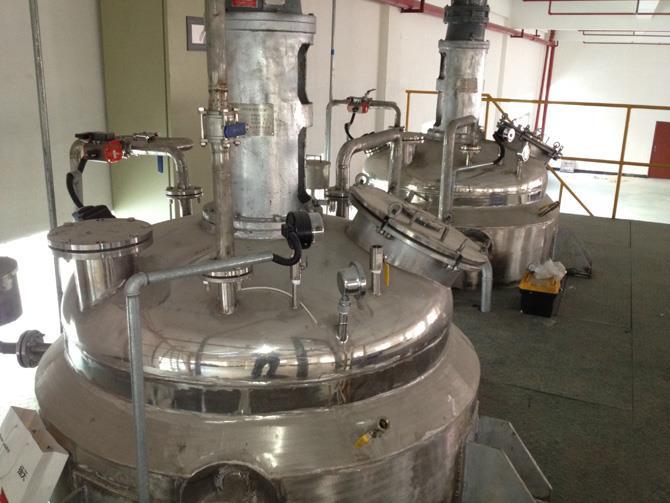 化工天天棋牌乳液类生产发觉不锈钢反响釜