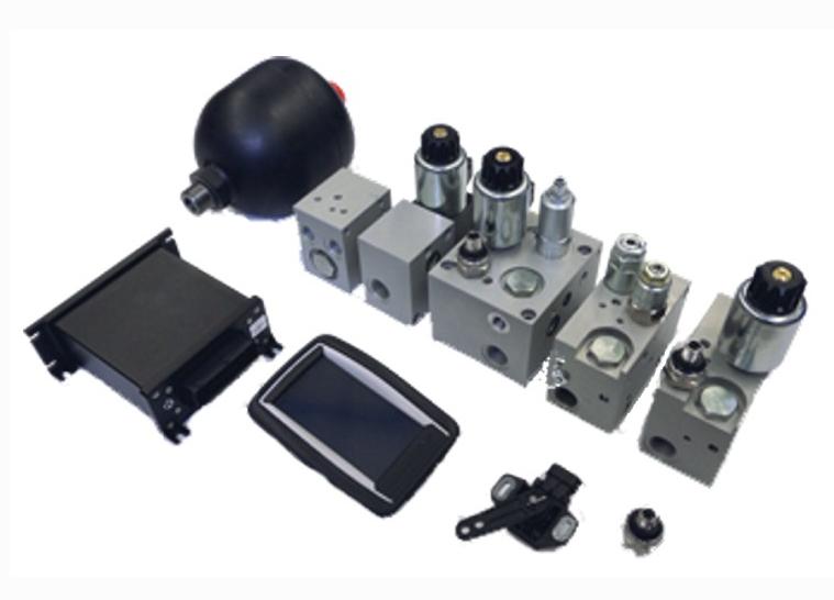 模塊化油氣懸掛系統