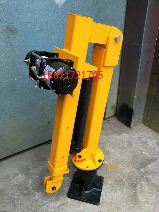 车载小吊机220V电压小型吊运机电动电瓶小型吊机